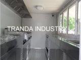 Одиночная кухня Van трейлера еды двери