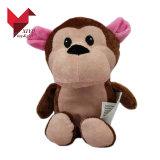 Stuk speelgoed van uitstekende kwaliteit van de Aap van de Pluche Aniamls van Kinderen het Zachte Gevulde