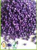 HDPE 플라스틱 원료 가격 자주색 색깔 Masterbatch