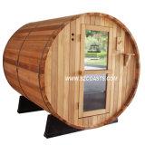 Casa ao ar livre da sauna do jardim ao ar livre quente da sauna do tambor da venda