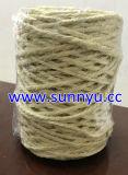 De natuurlijke Streng van de Sisal van het Garen van de Kabel van de Sisal van 3 Bundels. De Streng van de jute, de Streng van de Verpakking
