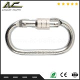 Metal Rebar Alloy Safety double Latch Forged Snap Harness Hook