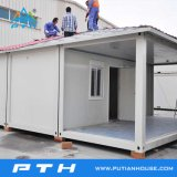 Flachgehäuse-Behälter-Haus für vorfabriziertes Haus