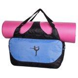Sacchetto di nylon su ordinazione di ginnastica di sport del Tote di yoga di forma fisica delle signore