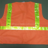 Colete de segurança uniformes em cristal LED Fita Refletora