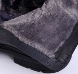Gaines de l'hiver d'hommes de cuir véritable de gaine de cheville de la Chine