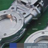 Class150# Wcb/Lcb/SS304/SS316 Válvula de Gaveta da faca pneumática