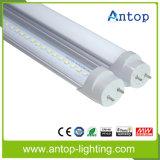 Lámpara popular Endcup movible del tubo del LED T8