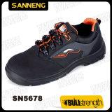 De Schoenen van de Veiligheid van het Leer van Nubuck van Sanneng (SN5678)