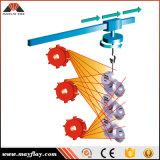 Obenliegende Schienen-Aufhängungs-hakenförmige Granaliengebläse-Maschine, Modell: Mhb2-1717p11-3