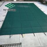 Meio Ambiente Fácil instalação exterior abrange, Tamanho personalizado Inground Segurança PP super resistente malha densa cobertura Piscina Piscina exterior e spa
