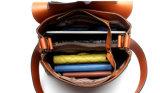 Riem de met hoge capaciteit van de Kleur van de Kameel Dame Bag