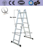 さまざまな様式の多目的アルミニウム梯子