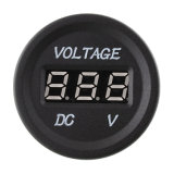 12V-24V Volt Car Motorcycle Blue 또는 Red LED Digital Display Panel Voltmeter