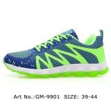 La Chine fournisseur Quanlity Mens chaussures de sport chaussures de course supérieur Flyknit léger