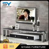中国の家具のテレビガラスTVの立場TVのキャビネット