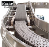 Systeem van de Transportband van de Ketting van de Riem van de Wacht van de Peddel van het Schot van Hairise het Modulaire Hoogste