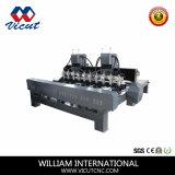2D/3D 3aixs CNC/4Gravure de l'axe machine CNC de la machine le travail du bois (VCT-1525FR-4H)