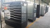 Supermarché Multideck refroidisseur ouvert avec les couches de réglable