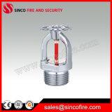 Pistas de regadera automáticas del fuego para el sistema de extinción de incendios por sumersión en lluvia