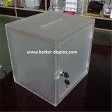 カスタムプラスチックアクリルの投票箱