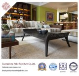 Moderne Hotel-Möbel mit dem modernen Vorhalle-Sofa eingestellt (YB-B-43)