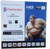 Combo Strongbox receptor HD digital DVB-T2/S2 Receptor Combo