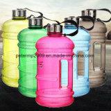 la plastica 2.2L mette in mostra la bottiglia di acqua del regalo di sport di grande capienza di ginnastica della caldaia PETG