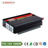 12V 220V gelijkstroom AC 1000 Watts van de Omschakelaar van de Macht van de Auto van het Net met Lader
