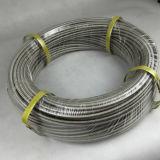 "1/8"" PTFE tressé en acier inoxydable flexible de frein SAE J1401"
