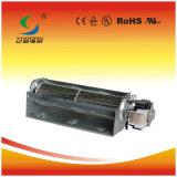 O motor do ventilador pequeno com um forte fluxo de ar