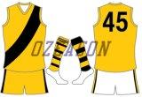 Kurzschlüsse Form-Art kundenspezifische Afl Fußball-Jersey-Afl, australische Fußball-Socken