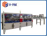 ケースの包装業者、皿のカートン(V-PAK)のためのカートンの包装業者のまわりの覆い