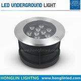Indicatore luminoso sotterraneo esterno del percorso LED del cortile di Intiground 7W di illuminazione