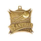 Sport personnalisé les médailles et trophées, et une médaille à cuvette métallique, Championtship médailles