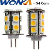 Luz del maíz de G4 LED para la iluminación al aire libre