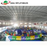 Parque Acuático de forma de erizo inflables inflables tema forestal Riegue Park
