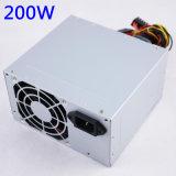 Rinnovare l'alimentazione elettrica completa di Watta di potere del PC 200W con il singolo ventilatore di 8cm