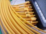 divisore ottico a forma di scatola del PLC della fibra dell'ABS 8way