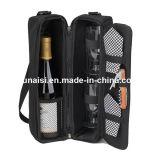 Saco de vinhos de Champagne para Dom com porta-copos tiracolo