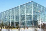 Cuadrada como el edificio de estructura de acero