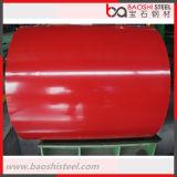 La couleur a enduit la bobine d'une première couche de peinture en acier de PPGI enduite par zinc