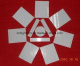 Plaque en céramique d'alumine blanche de résistance à l'usure