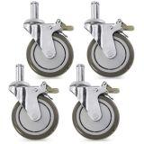 선반설치, 자물쇠를 가진 비계 피마자를 위한 회전대 피마자