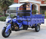 Triciclo del cargo de la gasolina del cargador de 1.5 toneladas