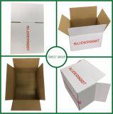 Cartón acanalado de empaquetado pesado del envío del traslapo completo