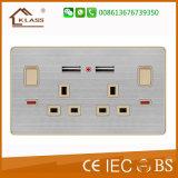Electrical 15uma tomada comutada de parede Home Office use