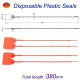 Sello plástico del sello de la seguridad evidente indicativa del pisón (JY380B)