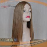 Helle Farben-langes Menschenhaar-Silk Spitzenperücke (PPG-l-0486)