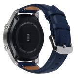 최신 판매 Samsung 기어 S3를 위한 고전적인 Dw 작풍 진짜 가죽 시계 결박